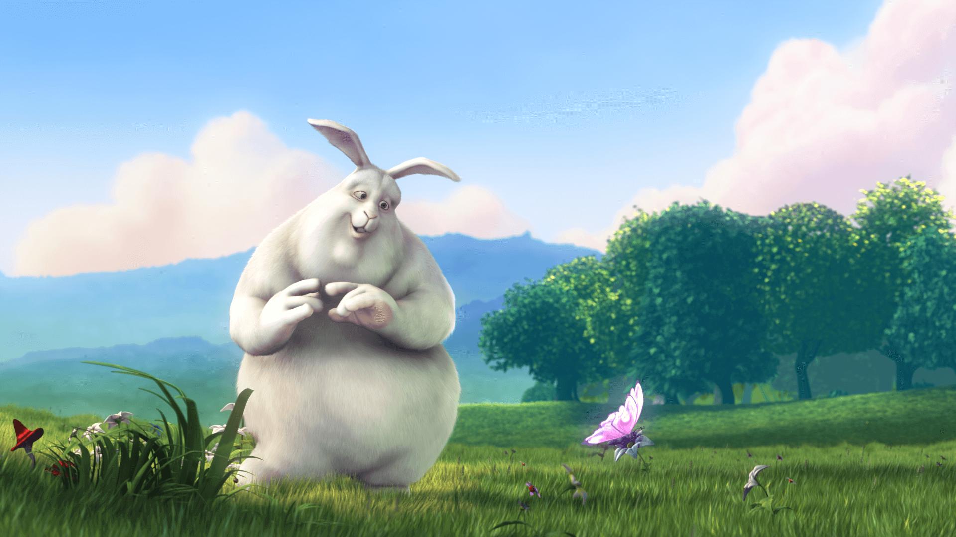 Big Black Bunny Fullscreen Lightbox