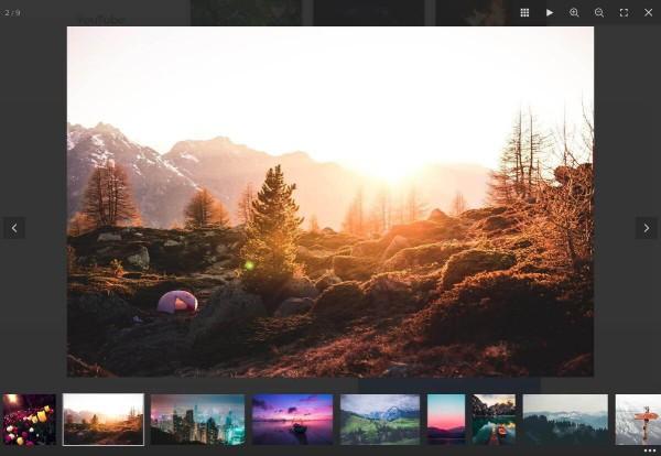 Fullscreen Lightbox